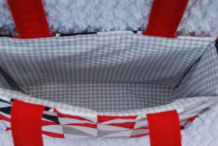 Makerist - Patchworktasche mit Windrädern - Nähprojekte - 2