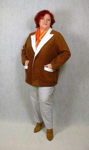 Makerist - Megan als Jacke aus kuscheligem Polarfleece.  - Nähprojekte - 1