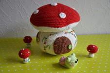 Makerist - Märchenhaftes Pilzhaus - 1