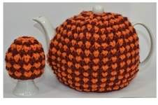 Makerist - Twisted Tweed Teapot Cosy & Egg Cosy - DK Wool - 1