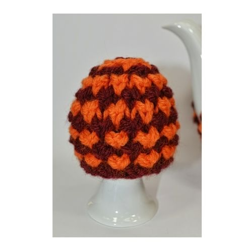 Makerist - Twisted Tweed Teapot Cosy & Egg Cosy - DK Wool - Knitting Showcase - 3