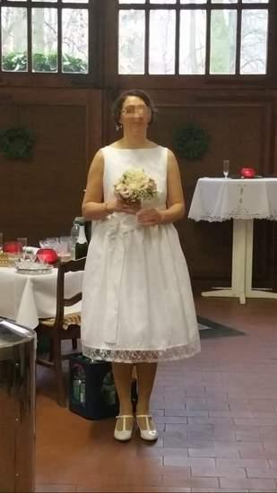 Mein Brautkleid für die standesamtliche Trauung