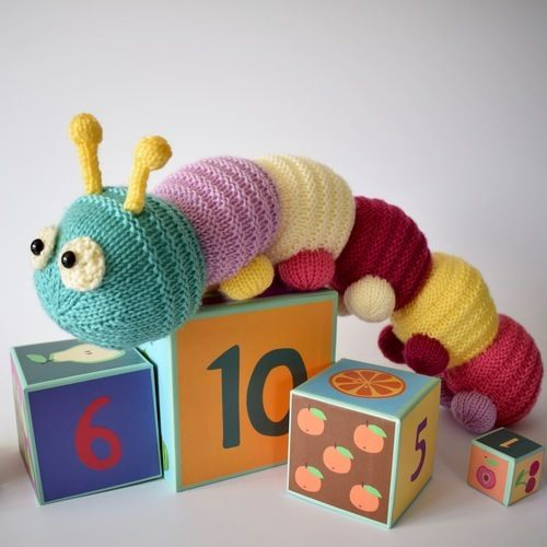 Makerist - Happy Caterpillar - Knitting Showcase - 1
