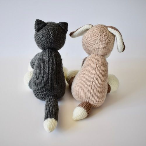 Makerist - Fido and Fifi - Knitting Showcase - 2