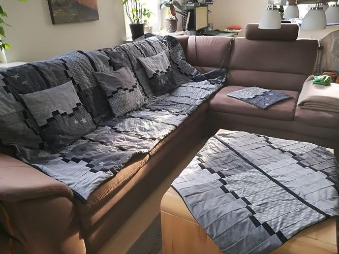 Makerist - Patchwork fürs Wohnzimmer  - Patchwork-Projekte - 1