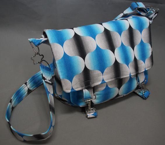 Makerist - Retro-Tasche - Nähprojekte - 1