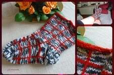 Makerist - Socken... meliert/kariert - 1