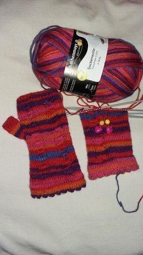 Makerist - Handstulpen für meine kleine Tochter - Strickprojekte - 2