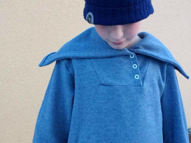 Makerist - Hoodie Edi wird Kragen-Pulli - Nähprojekte - 1