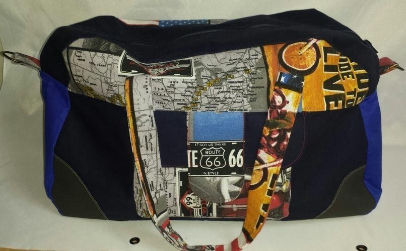 Makerist - USA Reisetasche - Nähprojekte - 1