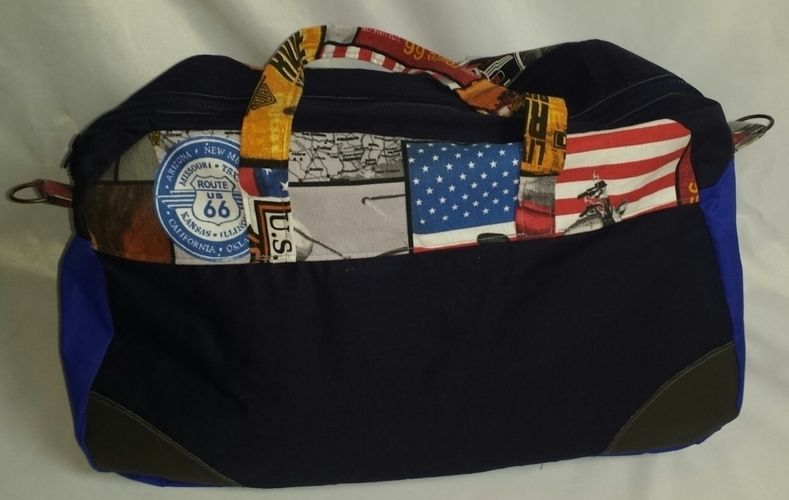 Makerist - USA Reisetasche - Nähprojekte - 2