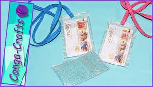 CKT Club-Karten-Tasche zum Umhängen