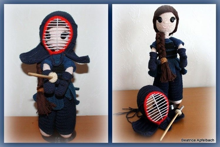Makerist - Hina, the Kendogirl - Häkelprojekte - 1