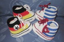 Makerist - WM-Babyschühchen - 1