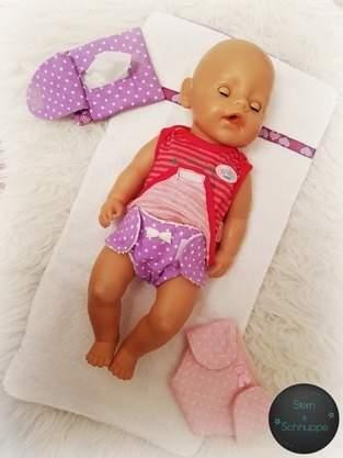 Feuchtetüchertasche für die Puppenmama