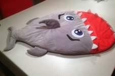 Makerist - Hai Schlafsack für meine Enkeltochter, die bald das Licht der Welt erblickt. - 1