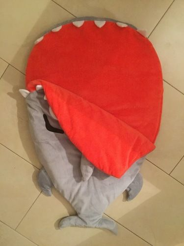 Makerist - Hai Schlafsack für meine Enkeltochter, die bald das Licht der Welt erblickt. - Nähprojekte - 2