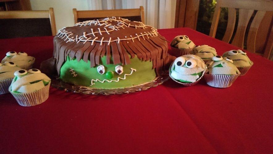 Makerist - Frankenstein und seine Gefährten - Torten, Cake Pops und Cupcakes - 1