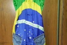 Makerist - Brasilien Kleid aus Flagge und alten Jeans - 1