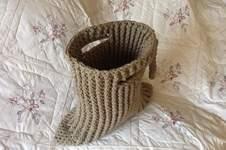 Makerist - Crocheted Tuxedo tote bag - 1