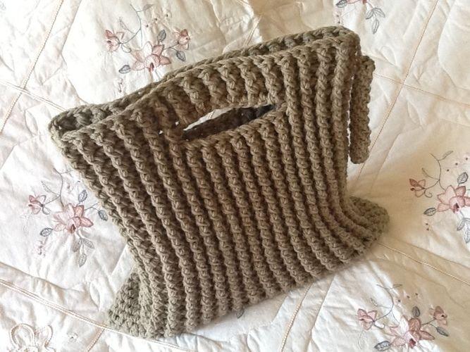 Makerist - Crocheted Tuxedo tote bag - Crochet Showcase - 3