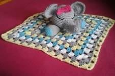 Makerist - Doudou tite fille éléphant  pour ma tite nièce 21 mois,l - 1