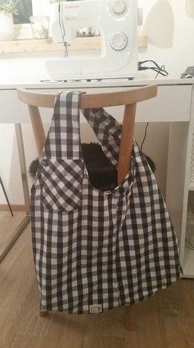 Makerist - Upcycling: Herrenhemd wird zu chicem Einkaufsbeutel - Nähprojekte - 2