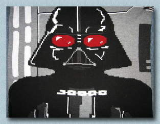 Star Wars Krabbeldecke Darth Vader
