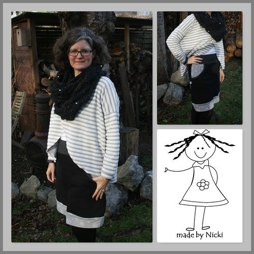 Makerist - Freebook Lady Sweat Skirt von Lin-Kim - Nähprojekte - 1