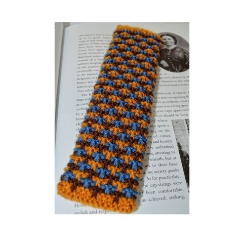 Makerist - Oxford Texture Tweed Bookmark - Knitting Showcase - 1