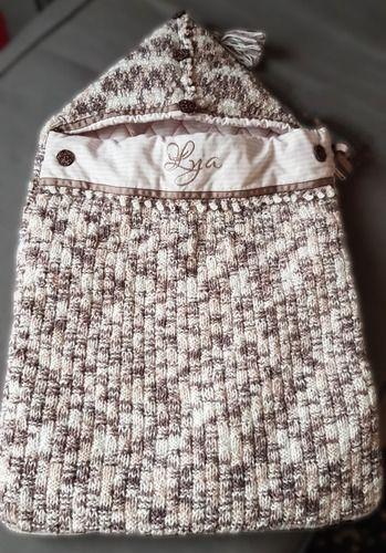 Makerist - Nid d'ange douillet de Bricololotte - Créations de tricot - 1