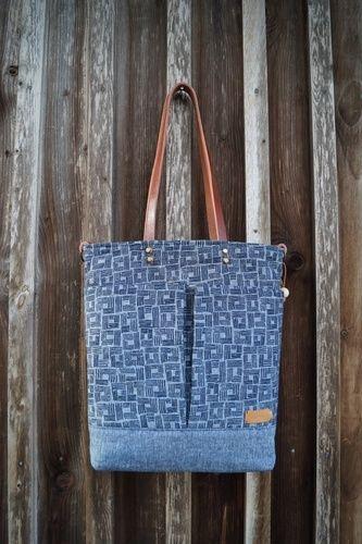 Makerist - Lia Bag Shopper Handtasche von Unikati - Nähprojekte - 1