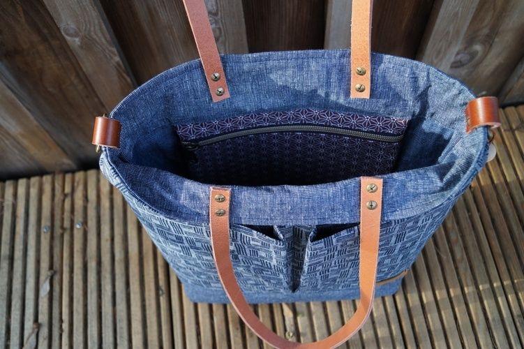 Makerist - Lia Bag Shopper Handtasche von Unikati - Nähprojekte - 2