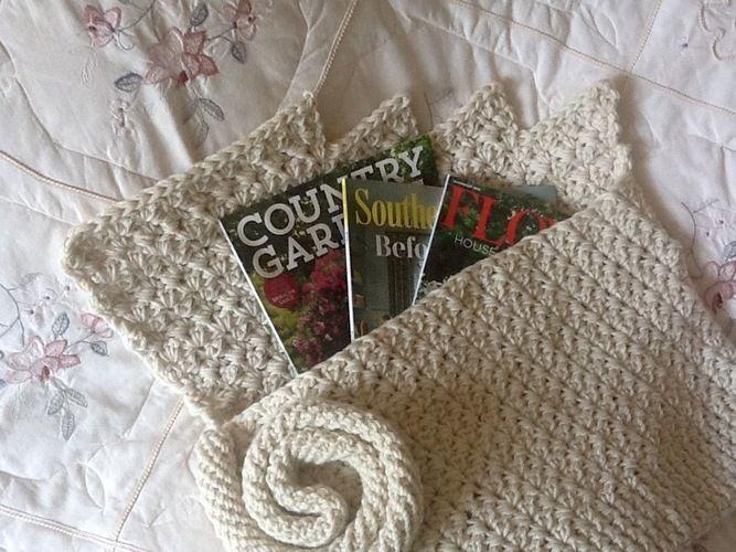 Makerist - Iceland Glacier inspired tote bag  - Crochet Showcase - 2