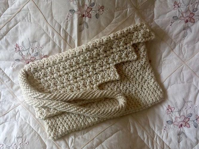 Makerist - Iceland Glacier inspired tote bag  - Crochet Showcase - 3