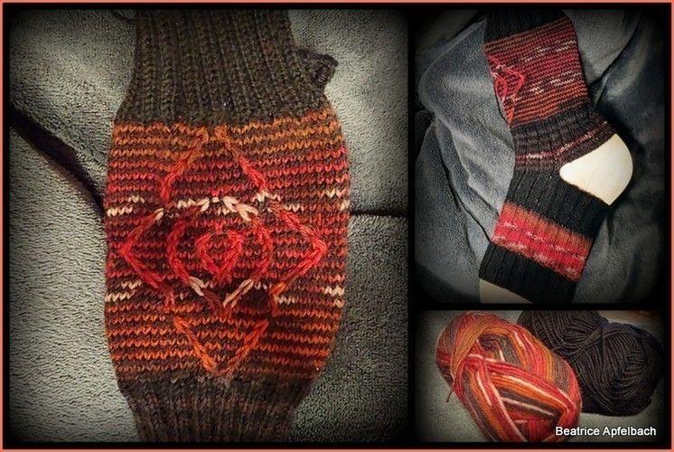Makerist - Yoga Socken mit Hebemaschenmuster - Strickprojekte - 1