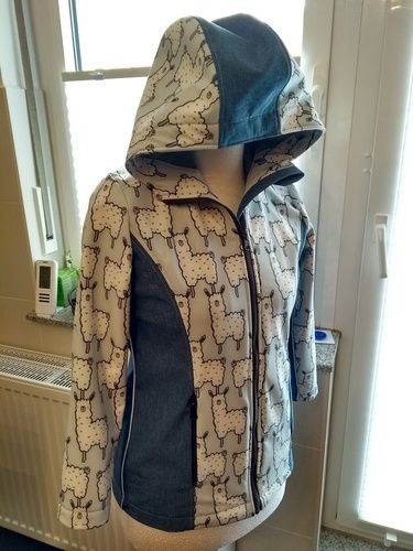 Makerist - Softshell Jacke Mädchen  Größe158 - Nähprojekte - 1