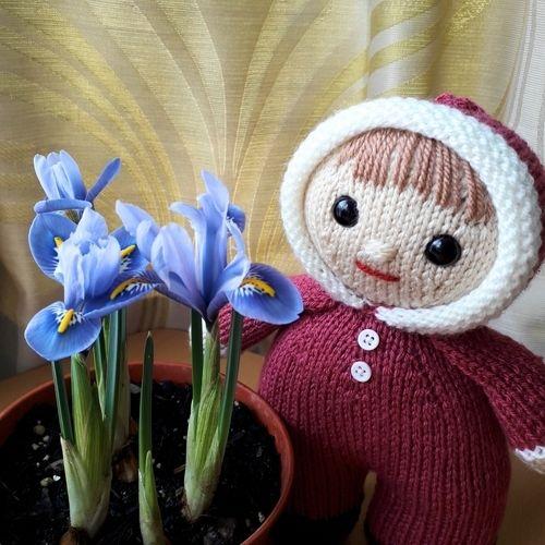 Makerist - Bobbie-Jo Doll - Knitting Showcase - 2