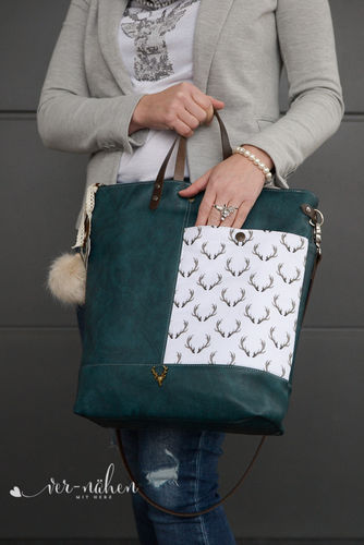 Makerist - Lia Bag von Unikati im Trachten Style - Nähprojekte - 2