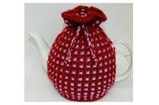 Makerist - Basket Ribbed Tea Cozy Knitting Pattern - DK Wool - 1