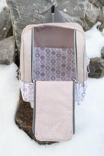 Makerist - Rucksack KlapPack von Shesmile - Nähprojekte - 3