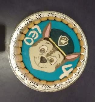 Paw Patrol Torte zum Geburtstag