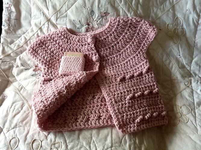 Makerist - Cindy Pale Pink Sweater - Crochet Showcase - 2