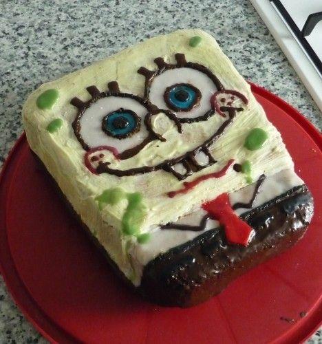 Makerist - Spongebob-Kuchen - Torten, Cake Pops und Cupcakes - 1