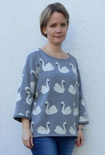 Makerist - Vokuhila Pullover basiert auf Frau Aiko - Nähprojekte - 3