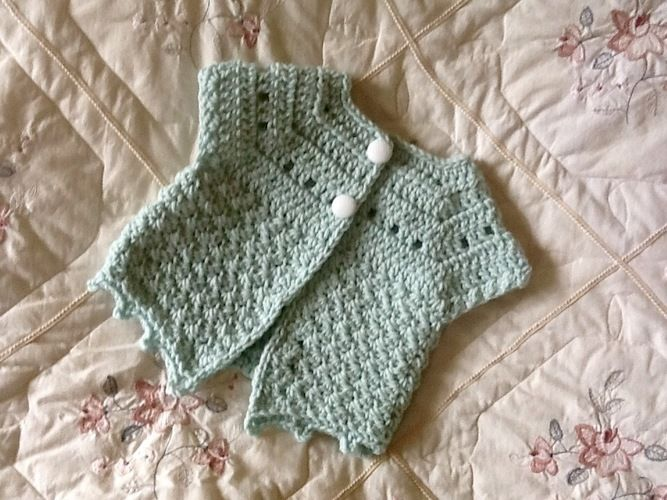 Makerist - Little Kelly Cardigan  - Crochet Showcase - 1