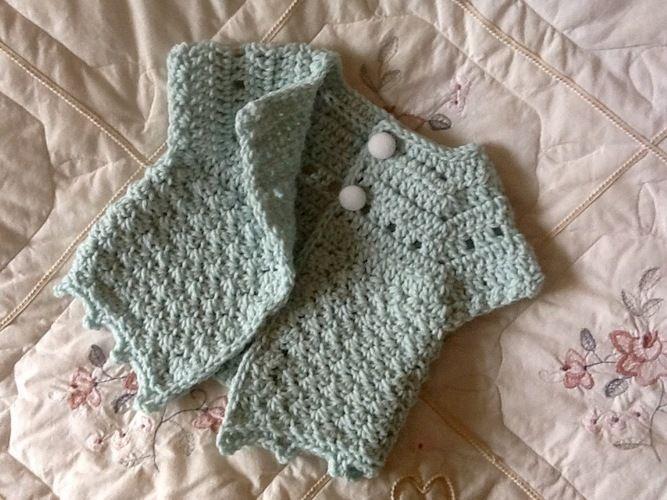 Makerist - Little Kelly Cardigan  - Crochet Showcase - 2
