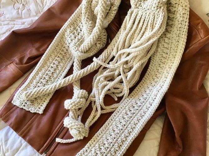 Makerist - Lafayette Park Scarf  - Crochet Showcase - 1