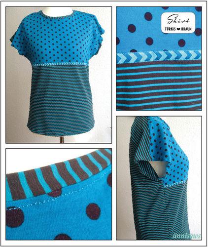 Makerist - Jersey-Shirt mit überschnittenen Ärmeln - Nähprojekte - 1