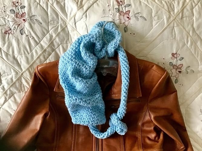 Makerist - Rhapsody Infinity Scarf - Crochet Showcase - 3